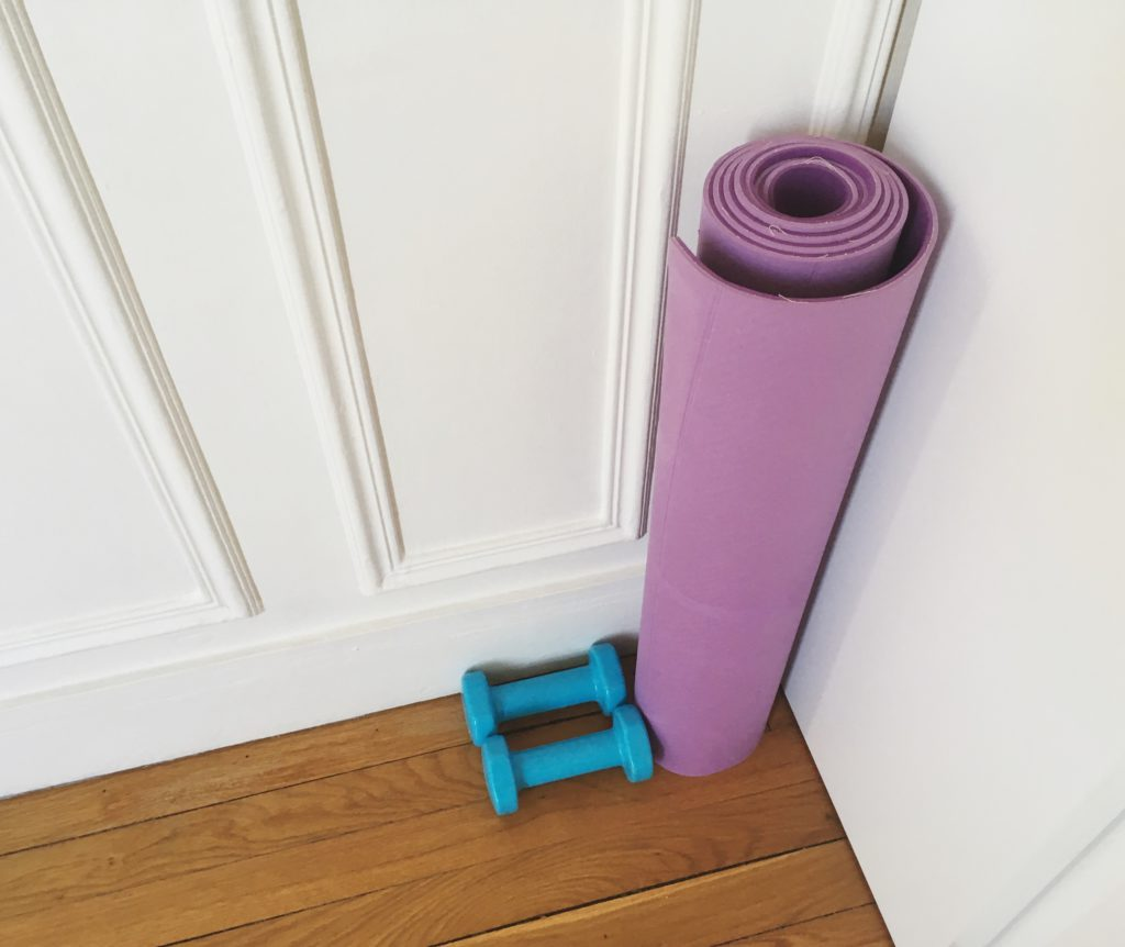 yoga mat weights exercise vocal health